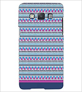 PrintDhaba Tribal pattern D-1756 Back Case Cover for SAMSUNG GALAXY A5 (Multi-Coloured)