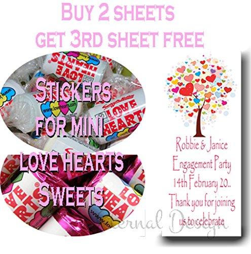 Eternal-Design-brillant-Fianailles-autocollants-pour-Mini-bonbons-Love-Heart-eplvhs-1