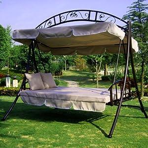 Garten hollywoodschaukel angebote auf waterige for Gartenliege gartenschaukel hollywoodschaukel gartenbank bettfunktion moskitonetz