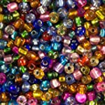 Make It With Beads 4mm Size 6/0 Silve...