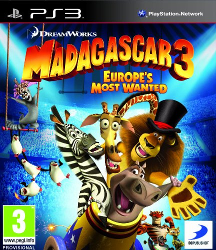 Madagascar 3 Europes Most Wanted Used (PS3)
