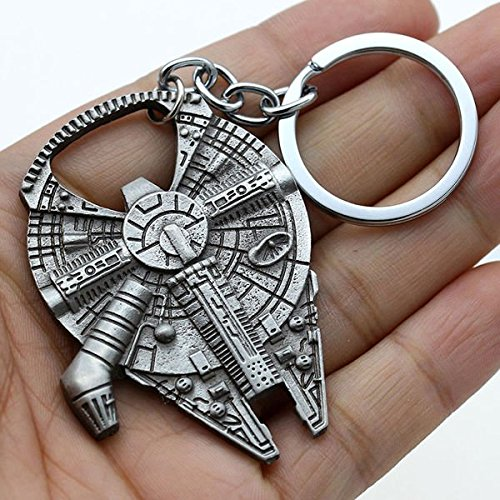 Star Wars Beer Bottle Opener Millennium Falcon Metal Keyring Keychain Tool Gift (Bottle Opener Keychain Disney compare prices)