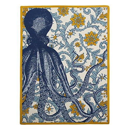 Thomas Paul TT615 Octopus Tea Towel, Goldenrod
