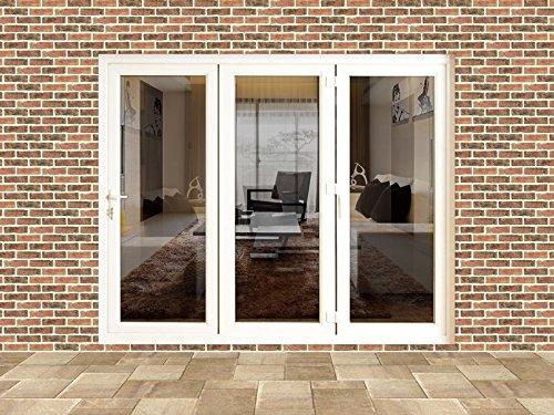 8ft uPVC Bi Folding Door Set (2390mm x 2090mm)