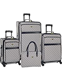 "Travel Gear Signature 4 Piece Expandable Spinner Luggage Set (28""/24""/20""/26"")"