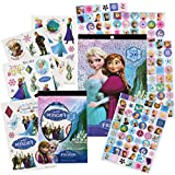 Disney Frozen Stickers & Tattoos Party Favor Pack (200 Stickers & 50 Temporary Tattoos)