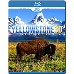 YELLOWSTONE 3D - America's Greatest Wonder (Blu-ray 3D & 2D Version) REGION FREE