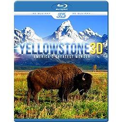YELLOWSTONE 3D - America's Greatest Wonder (Blu-ray 3D & 2D Version) REGION FREE
