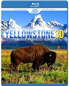 Yellowstone 3D - America's Greatest Wonder (Blu-ray 3D & 2D Version)