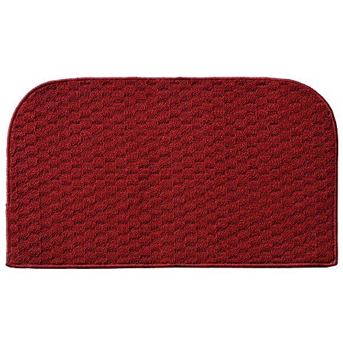 Garland Rug Town Square Kitchen Slice Rug, 18-Inch By 30-Inch, Chili Red front-606161