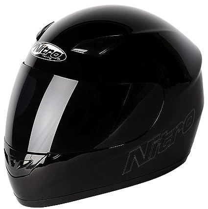 NITRO 187774S00 Casque Moto Dynamo Uno Noir