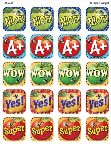 Teacher Created Resources SW Words to Inspire Stickers, Multi Color (5744)