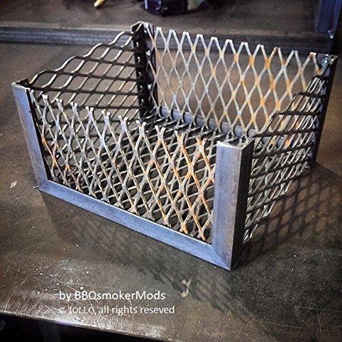 Lavalock (Tm) Brinkmann Trailmaster Coal Basket - Vertical Or Horizontal (Fire Box Basket) By Bbqsmokermods