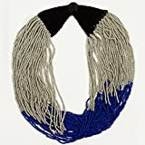 Izta Necklace - Snowcap Blue/Silver
