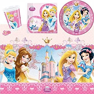 Disney Princesss Sparkle Party Tableware Pack