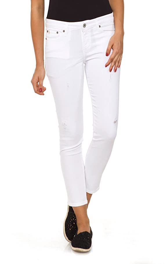 Big Star Women's Andrea Cropped Jeans in Snow