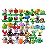 Luk Oil A Full Set Of Plants Vs Zombies Series Plush Toy Doll 38Pcs