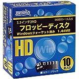 磁気研究所 フロッピーディスク 3.5インチ2HD Windows用 10枚パック