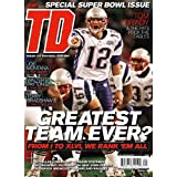 TDdaily;special super bowl issue;tom brady;joe montana;walter payton;terry bradshaw