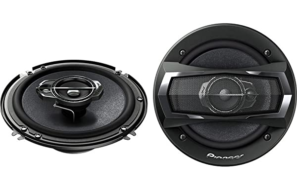 Pioneer TS-A1675R 6.5-Inch 3-Way Coaxial Car Speakers