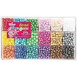 Beadery Bead Extravaganza Bead Box Kit, 19.75-Ounce, Pearl