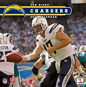 Perfect Timing - Turner 12 X 12 Inches 2013 San Diego Chargers Wall Calendar (8011293)