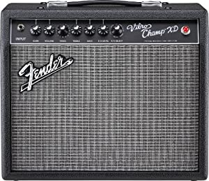 fender vibro champ xd electric guitar amplifier musical instruments. Black Bedroom Furniture Sets. Home Design Ideas