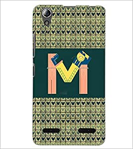 PrintDhaba GRANDbet M D-4145 Back Case Cover for LENOVO A6000 PLUS (Multi-Coloured)