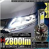 ホンダ 新型オデッセイ アブソルート RC1/RC2対応 LEDハイビームライトHB3 SCOPE EYE L2800 LEDハイビームキット プレミアムホワイト6700K[2800Lm]