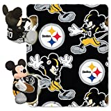 PITSBURGH STEELERS NFL MICKEY MOUSE WITH THROW COMBO