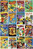 GB eye The Simpsons Comic Covers Maxi Poster, Multi-Colour