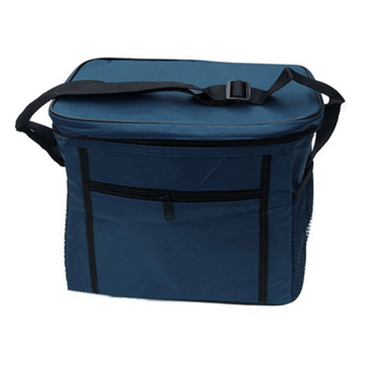 Outdoor 10l insulated lunch cool bag cooler shoulder strap for Insulated fish bag