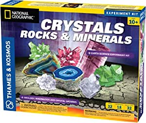 Earth Science Crystals, Rocks, and Minerals