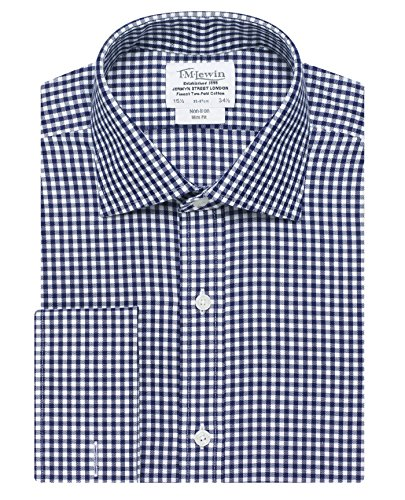 tmlewin-mens-non-iron-gingham-slim-fit-double-cuff-shirt-navy-17