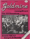 img - for Goldmine #32, January 1979 Lenny Bruce, The Jordanaires, New Wave Music book / textbook / text book