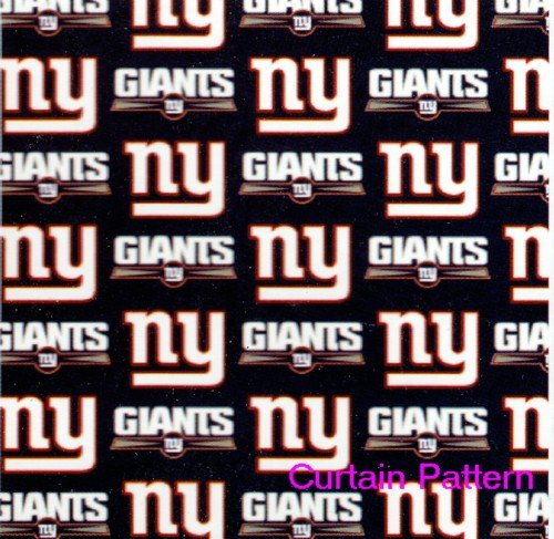 New York Giants Shower Curtain at Amazon.com