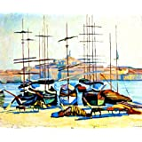 Albert Marquet The Port Of Marseliles 1904 Coupon 2015