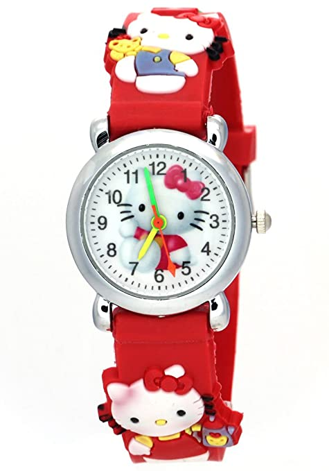 TimerMall Kids Fashion Hello Kitty Watch