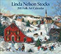 Linda Nelson Stocks Folk Art: 2011 Wall Calendar