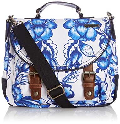 Animal Womens Hallandale Cross-Body Bag LU4SE319-F33 Ocean