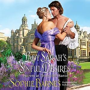 Lady Sarah's Sinful Desires Audiobook