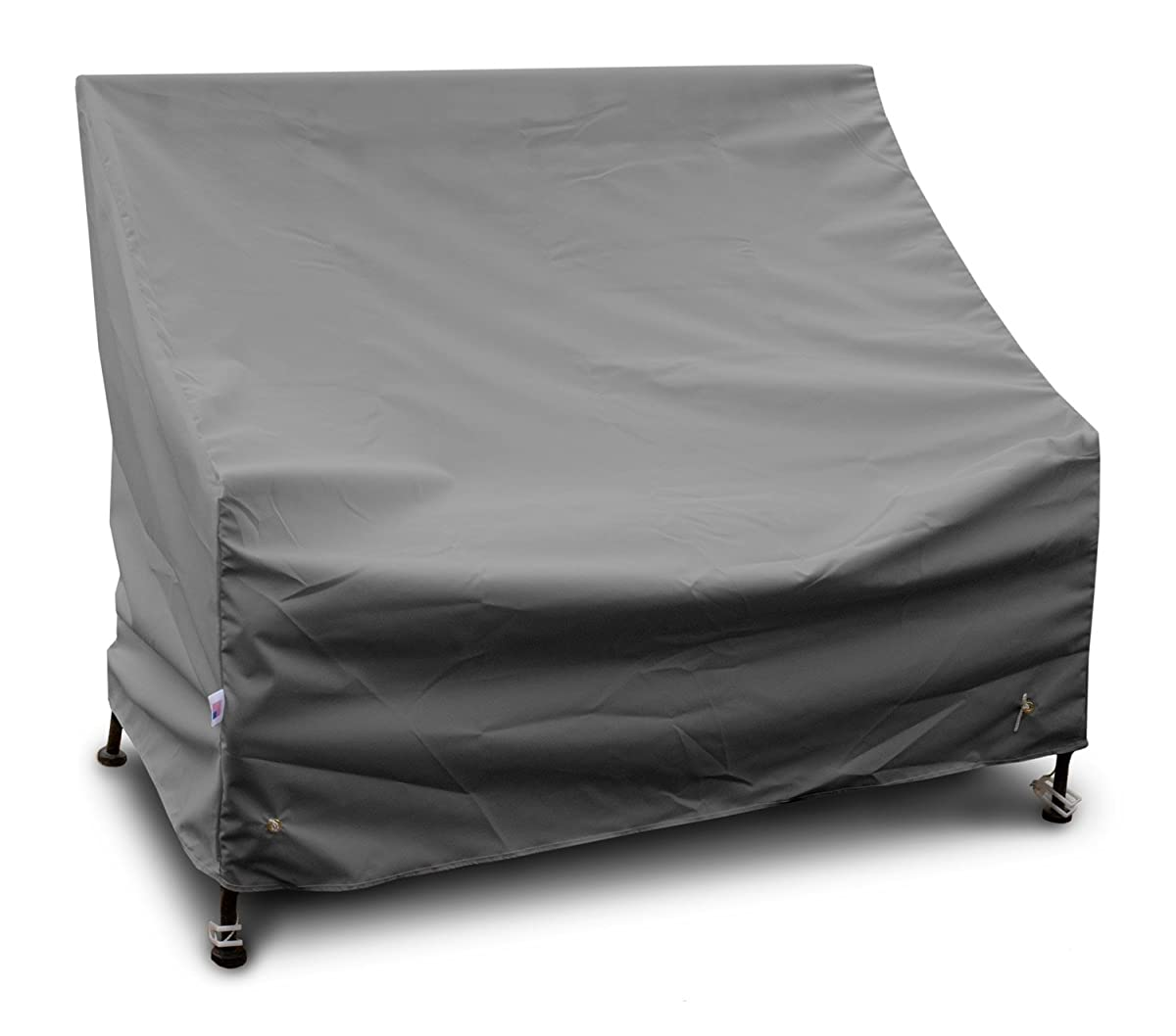 KoverRoos Weathermax 84203 5-Feet Bench/Glider Cover, 63-Inch Width by 28-Inch Diameter by 37-Inch Height, Charcoal