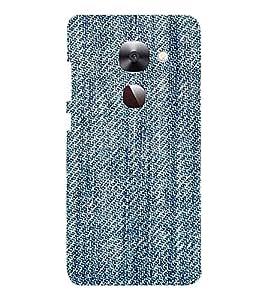 EPICCASE Blue stiches Mobile Back Case Cover For LeEco Le Max2 (Designer Case)