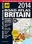 AA Road Atlas Britain 2014 (Internati...