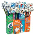 Raymond Geddes Dr. Seuss Pencil with Giant Eraser 36 Pack (66865)