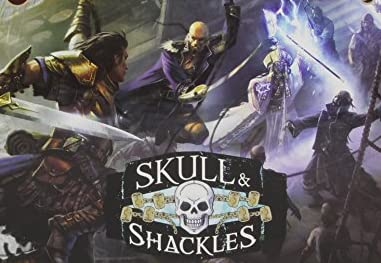 Pathfinder Adventure Card Game: Skull and Shackles: Base Game
