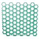 Piastrella forata in plastica pavimento modulare 56x60cm piscina giardino PRATEX