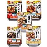 HOKO レンジ でチン 楽チン! カップ 5種類 7食 和風 惣菜 セット 【 豚肉 と 大根 の 煮物 ・ さば みそ煮 ・ 筑前煮 ・ 鶏肉 と ひじき の 煮物 ・ いか と 里芋 の 煮物 】
