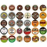 Crazy Cups Variety Sampler Pack for Keurig K-Cup Brewers, Decaf Coffee, 30 ct