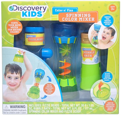Discovery Kids Color N' Fizz Spinning Color Mixer front-329401